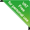 VAT free for personal use