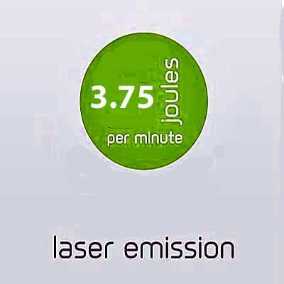 B-CURE Laser delivers 3.75 Joules of energy per minute