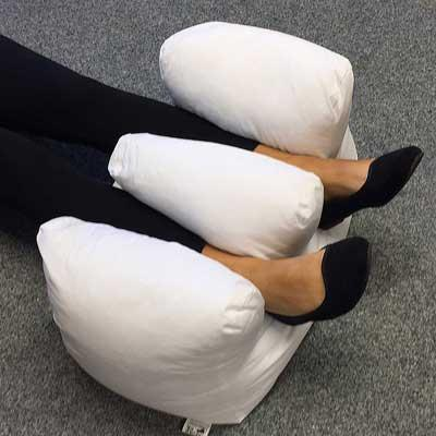 Ankle Pressure Crown Cushion in use