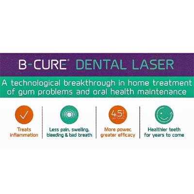 B-CURE Dental Laser is a breakthrough in oral health