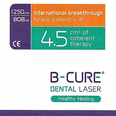 B-CURE Dental Laser is patented and powerful