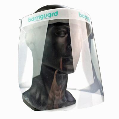 Display pf the Barriguard Face Shield Visor
