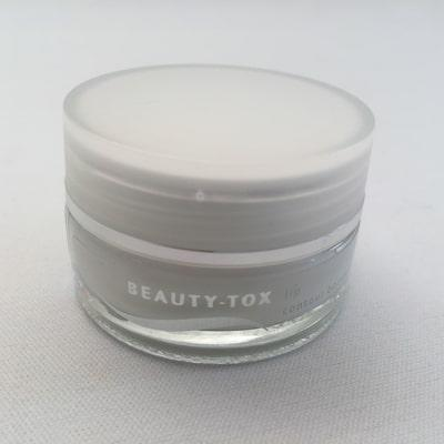 Image of 15 ml glass jar of Lip Contour Booster Cream