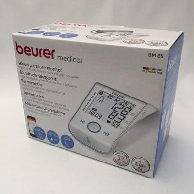 Image of Beurer BM 85 Blood Pressure Monitor in its box
