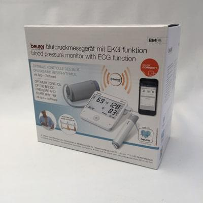 Beurer BM 95 Blood Pressure Monitor in its box