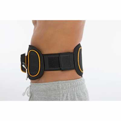 Beurer EM 39 Abdomen and Back EMS Belt - fitted and use 33205e80d44
