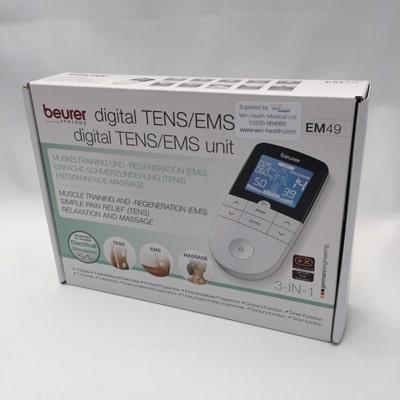 Beurer EM 49 Digital TENS EMS Massager - boxed
