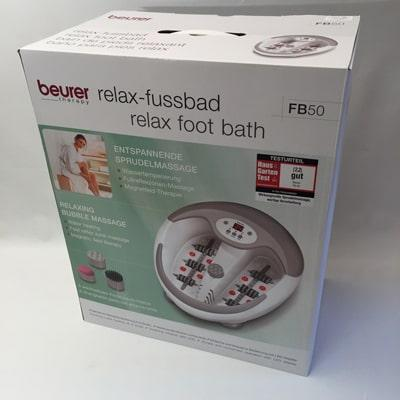 Beurer FB 50 Foot Spa - boxed