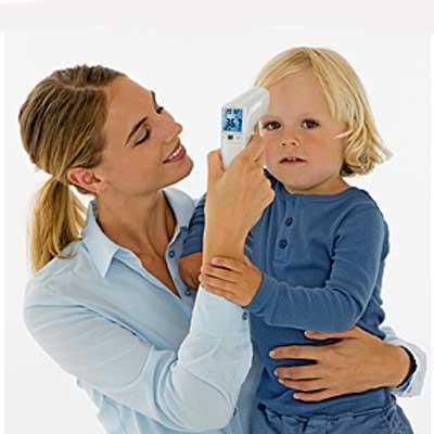 Beurer FT 100 Clinical Non-Contact Thermometer - perfect for use on kids