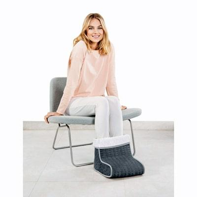 Beurer FW 20 Cosy in grey is elegant and comfortable to use