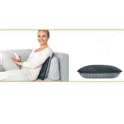 Image of Beurer HK 48 user on a sofa