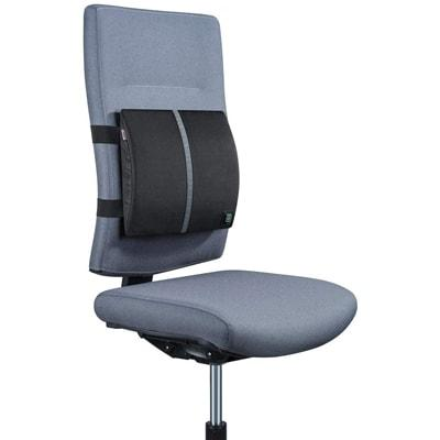 Image of the Beurer HK 70 fitted to backrest on an office chair