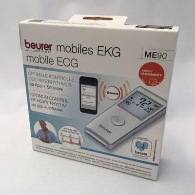 Beurer ME 90 Mobile ECG Monitor - boxed