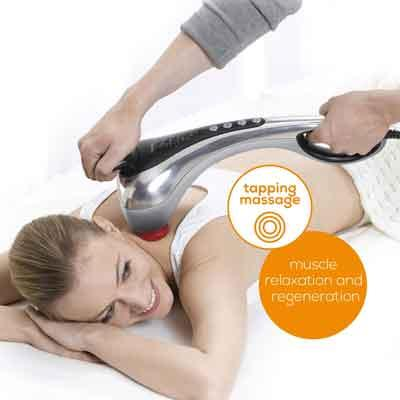 Image of massage with Beurer MG 100