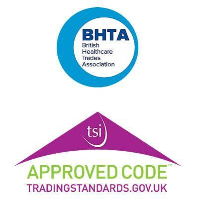 Image of BHTA and Trading Standards logo