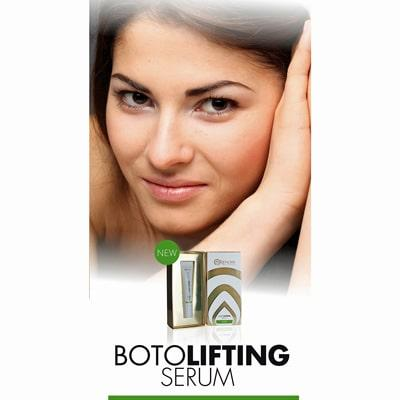 Botolifting Serum lady user