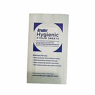 Bruder Hygienic Eyelid Sheets - individually wrapped hygienic eyelid sheet