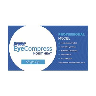 Bruder Stye Compress - packaging label