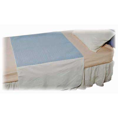 Dura Bed Pad in Blue - 72 x 90 cm - 2.1 litres absorbent capacity