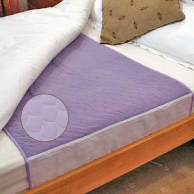 Dura Bed Pad in Lilac - 86 x 90 cm - 3.2 litres absorbent capacity