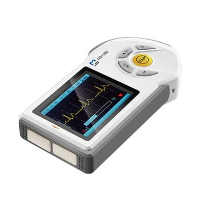 Image of the compact ECG monitor MD 100$ by ChoiceMMed