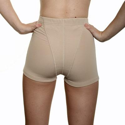 EVB Sport Pelvic Support Brief - in nude