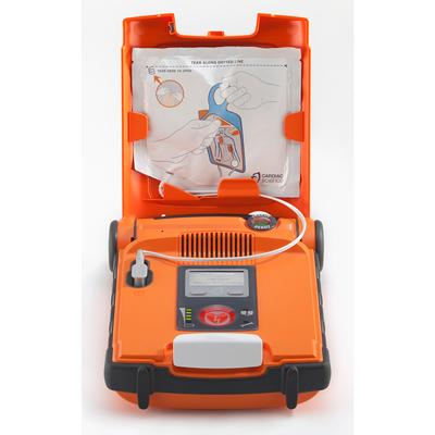 Powerheart G3 AED Semi-Automatic Defibrillator - RED button at the front