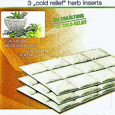 Cold relief insert