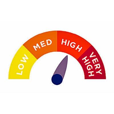 Image of high risk indicator for pressure ulcers