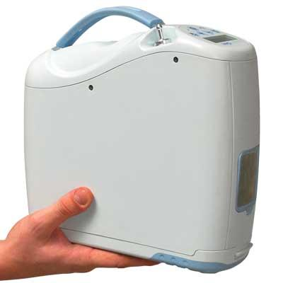Inogen One G2 Oxygen Concentrator is compact and portable
