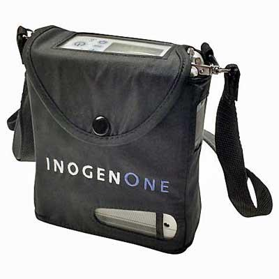 Carry bag with Inogen One G4 unit