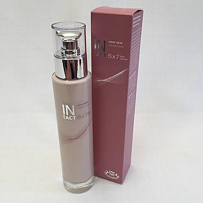 Image of Intact Light Skin Cream Fluid bottle with outer box