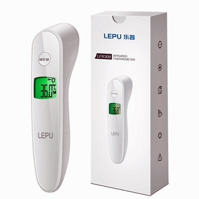Image of LEPU Thermometer and bax