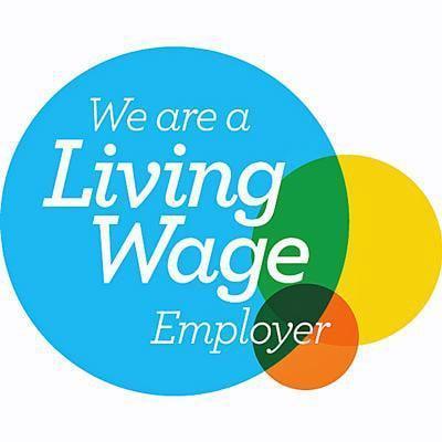 Image of Living Wage logo