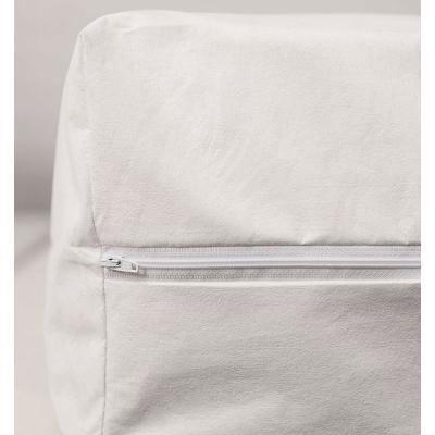 Image of zip closure on waterproof mattress protector