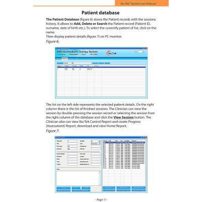 Image of data base report