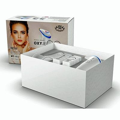OXYJET GO packing box with device, cradle and serum 1 & 2