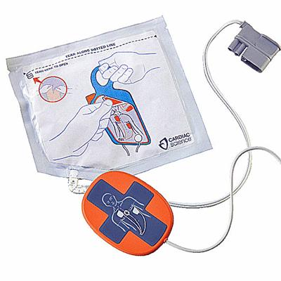 Adult pads with CPR Feedback Device