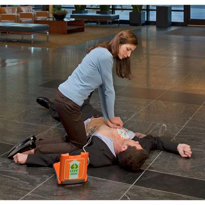 Rescue with Powerheart AED