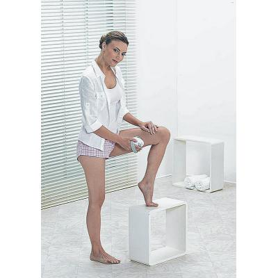 Beurer CM 50 Cellulite Massager in use