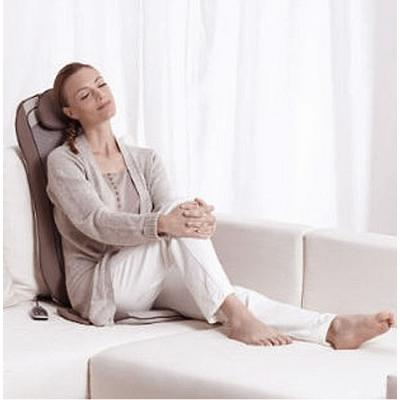 Beurer MG 240 Shiatsu Massage Seat Cover in use