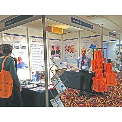 Win Health at Medical Exhibition RCN Brighton 2014