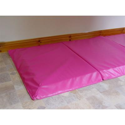 Bedside Crash Mat in cerise