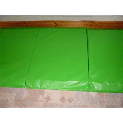 Bedside Crash Mat in lime green