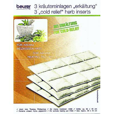 Beurer HK 65 Aroma Heat Pad cold relief inserts