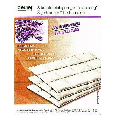 Beurer HK 65 Aroma Heat Pad relaxation inserts