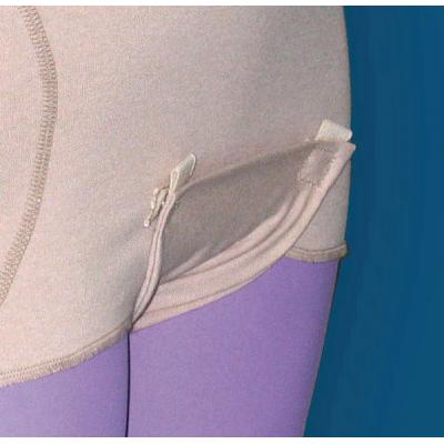 HipSaver QuickChange TailBone Soft Hip Protector drop down crotch