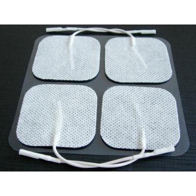 Self-adhesive square skin electrodes