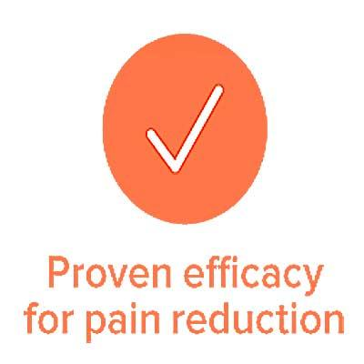 B-CURE Laser PRO is proven effective in pain relief