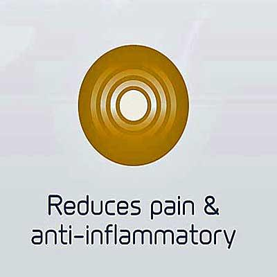 B-CURE Laser SPORT PRO redices pain and inflammation